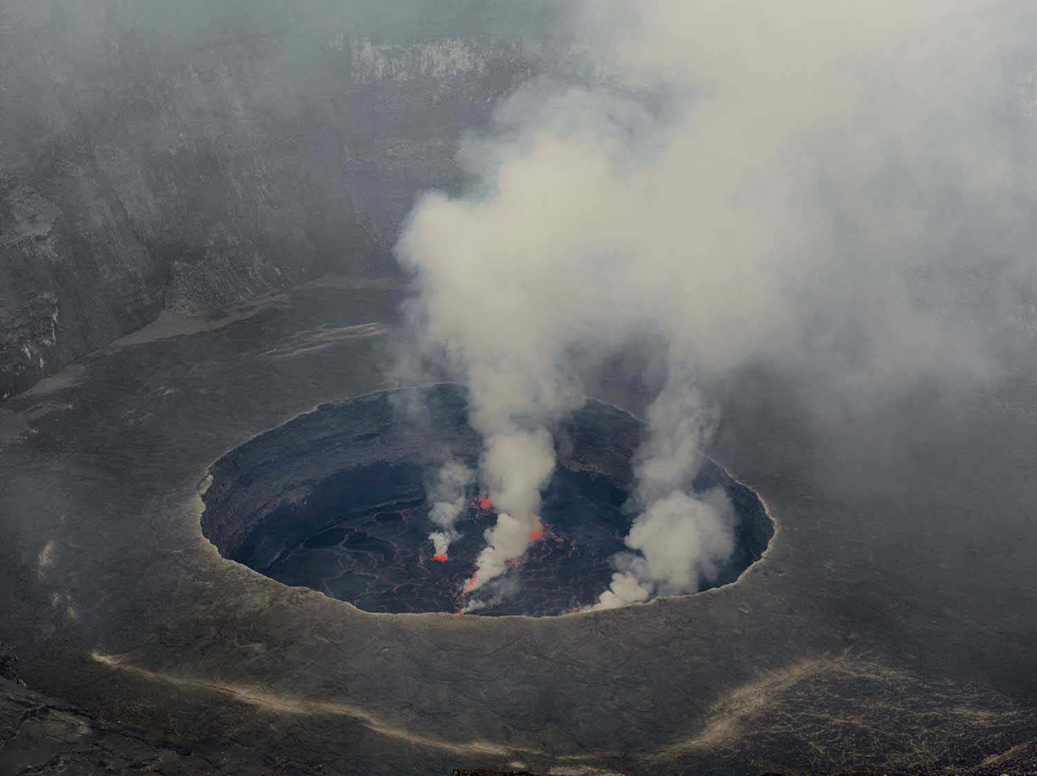 Nyiragongo Volcano Eruption I come from a story te...