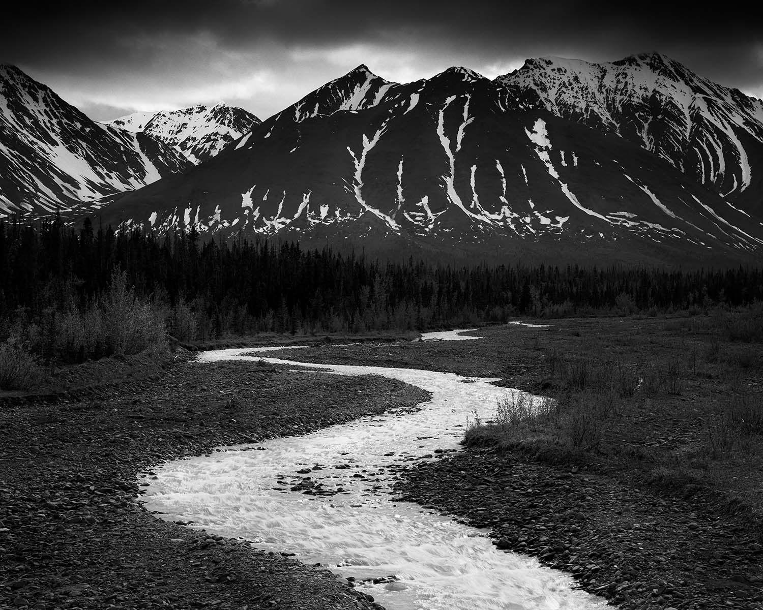 Amazing landscapes captured in timeless black and white